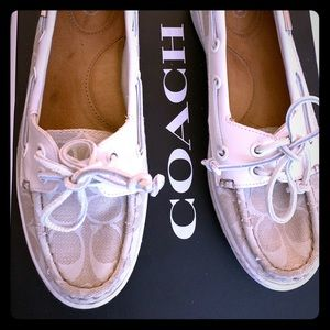 Boat shoes by Coach